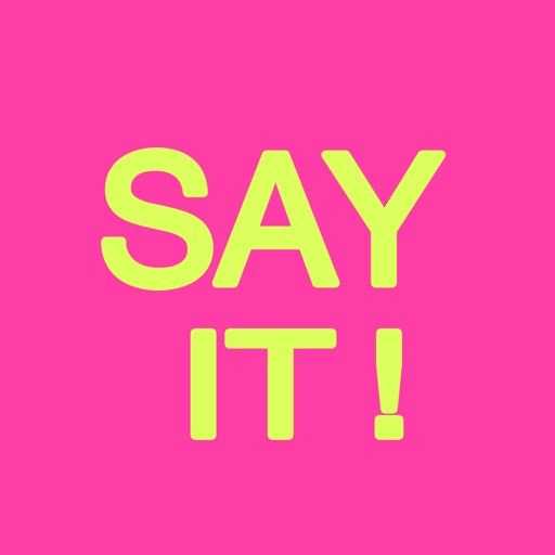 Say It! - Bubble Stickers