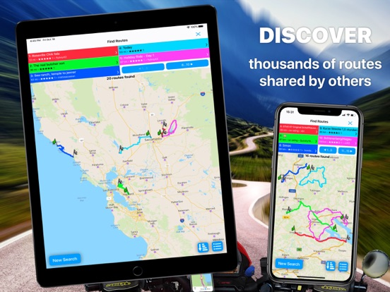 Scenic - GPS Motorcycle Navigation, Route Import, Planning and Ride Tracking screenshot
