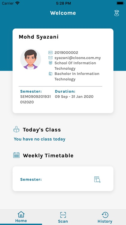 SEGi Student Attendance System