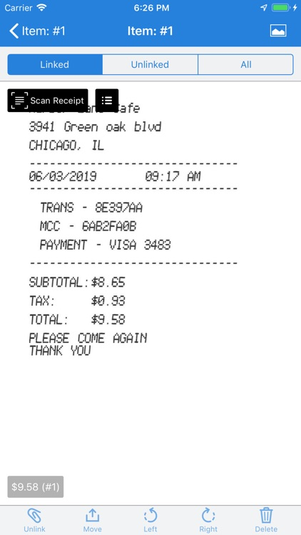 Nexonia Expenses screenshot-4