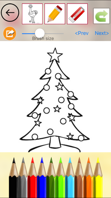 Christmas Drawing Book screenshot three