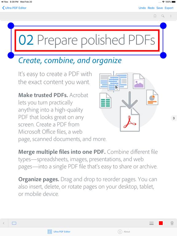 Ultra PDF Editor | App Price Drops
