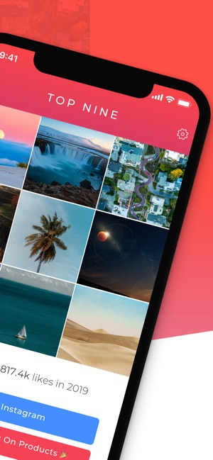 Top Nine for Instagram 2019 - on the App Store