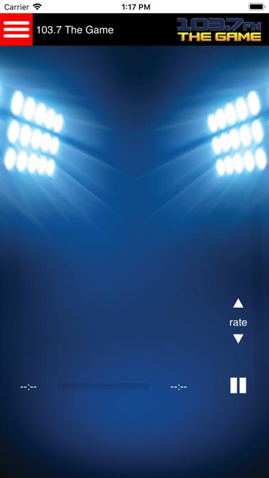 KLWB 103.7 The Game screenshot one