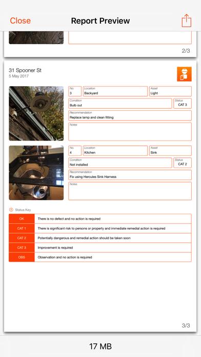 Site Report Screenshot 5