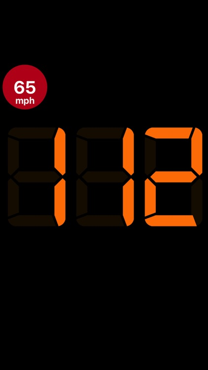 Speedmeter mph digital display screenshot-8