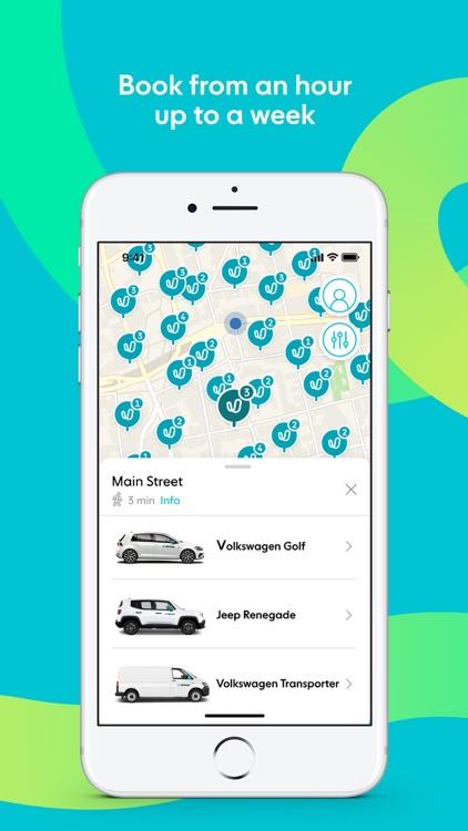 Ubeeqo Carsharing App