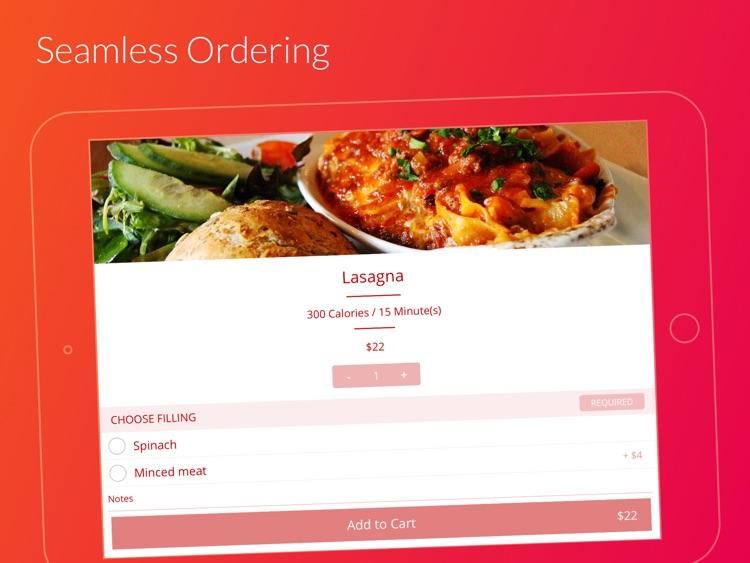 Finedine Tablet Menu App screenshot-5