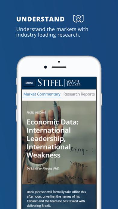 Stifel Wealth TrackerScreenshot of 5