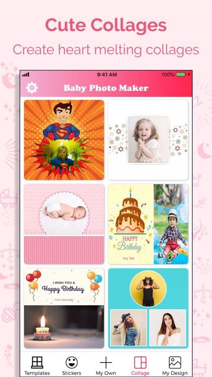 Baby Story Photo Maker screenshot-4