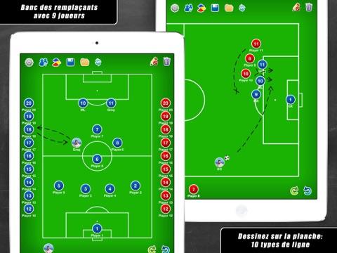 Screenshot #5 pour Planche Tactique: Football++