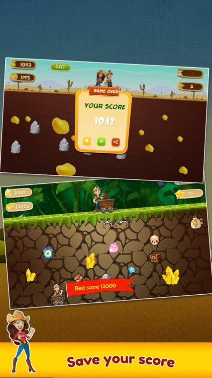 Gold Miner: Classic Game screenshot-3
