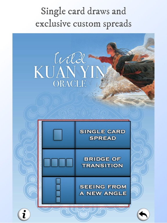 Wild Kuan Yin Oracle screenshot 7