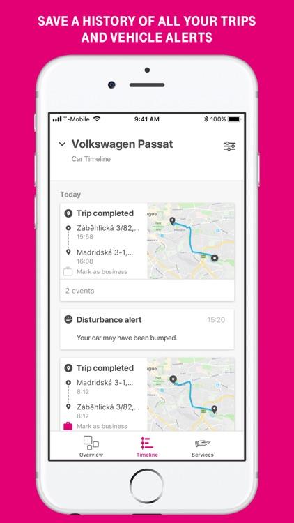 Chytré auto for T-Mobile