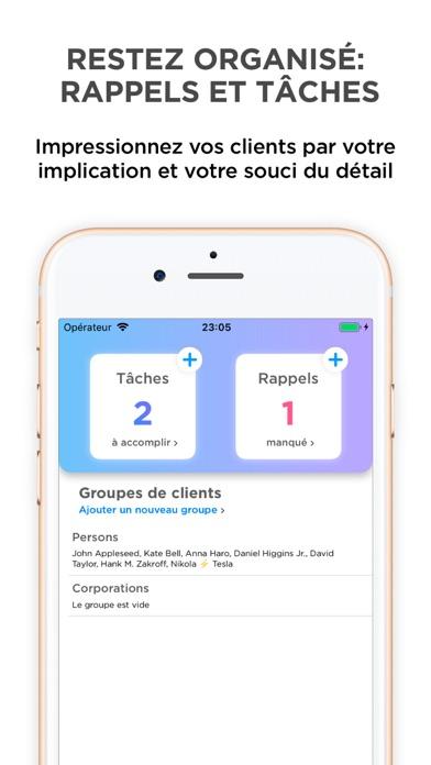 Screenshot #3 pour Clients — gérez vos clients