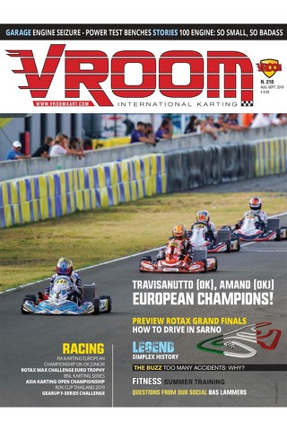 Vroom International Magazine - náhled