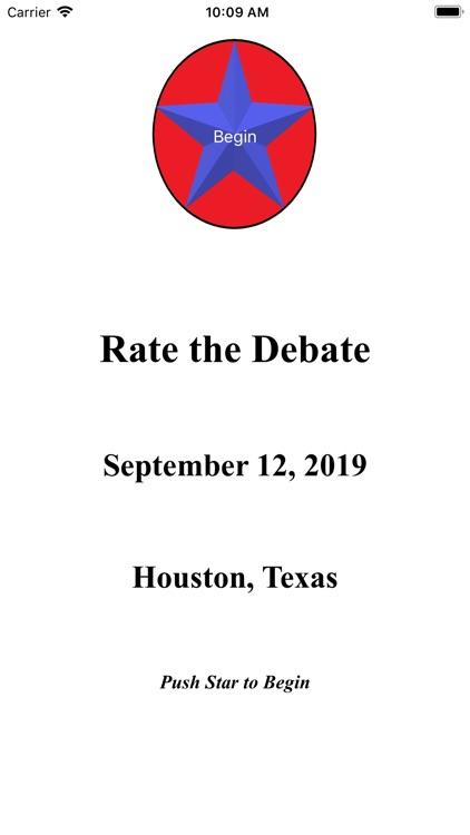 Rate the Debate screenshot-0
