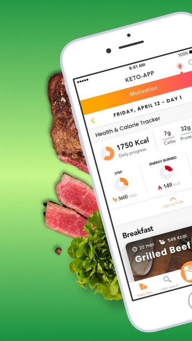 KetoApp - Diet Recipes app image