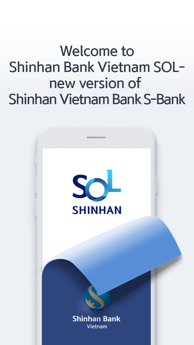 Shinhan Bank Vietnam SOL screenshot one