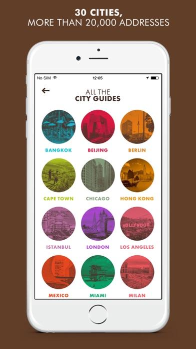 LOUIS VUITTON CITY GUIDE screenshot two