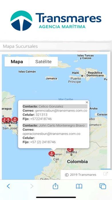 Transmares Shipping Agency2019Captura de pantalla de1