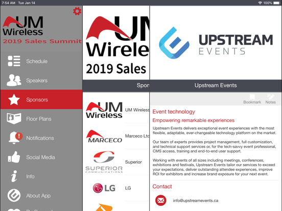 UMWireless Event Portal screenshot 9