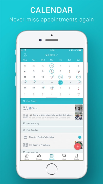 timee - Team Calendar & Chat