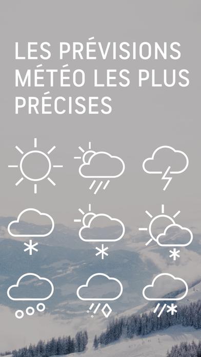 Screenshot for AccuWeather : Météo satellite in Lebanon App Store