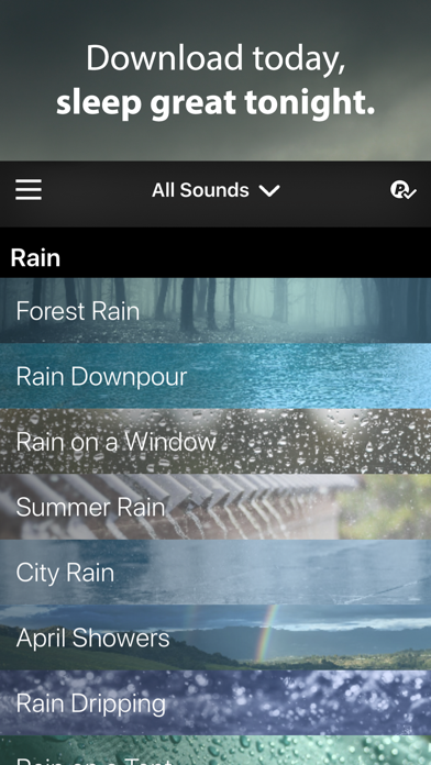 Rain Rain Sleep Sounds - Revenue & Download estimates - Apple App