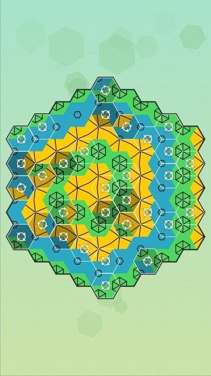 Aurora Hex - Pattern Puzzles screenshot-5