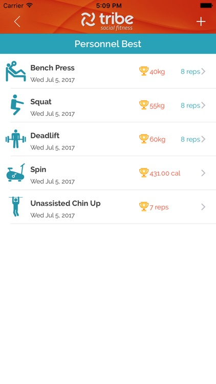 Tribe Social Fitness screenshot-2