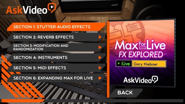 FX Explored Max For Live