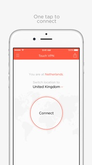 Touch VPN — Unlimited Proxy iphone images