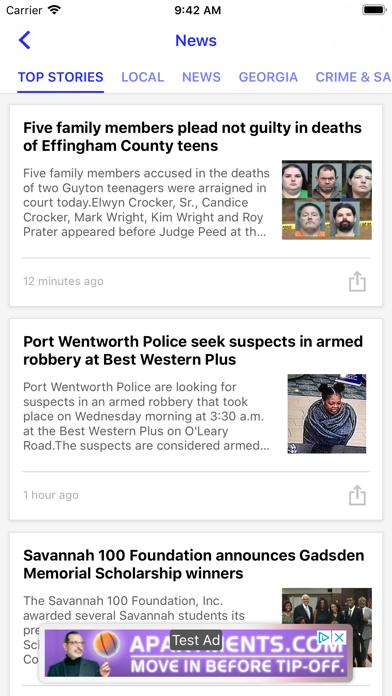 WSAV News - Savannah, GA screenshot two