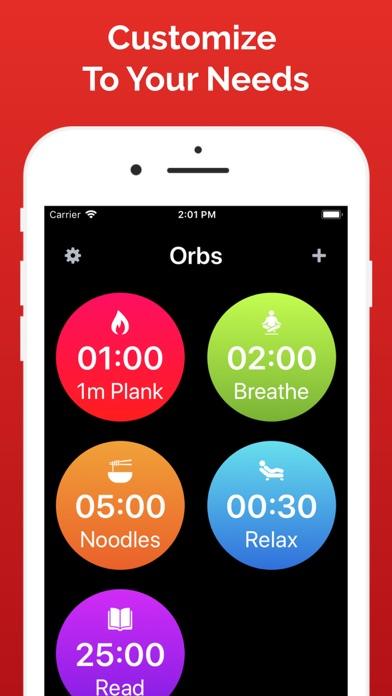 Orbs: Countdown Timersのおすすめ画像3