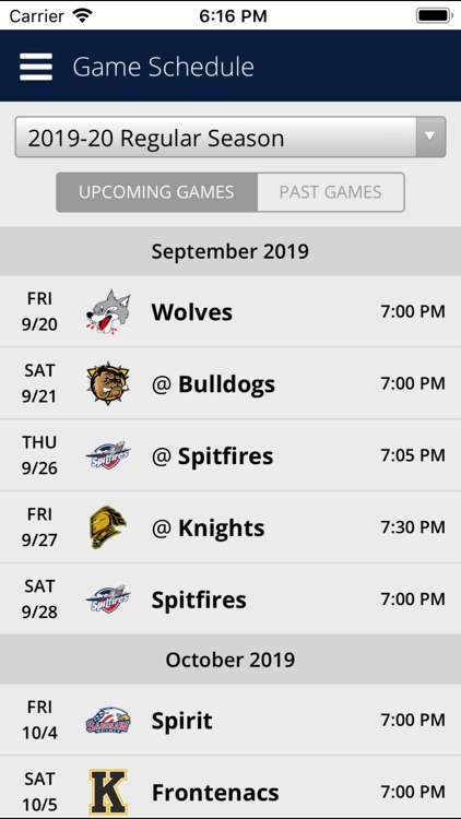Erie Otters Mobile screenshot-3