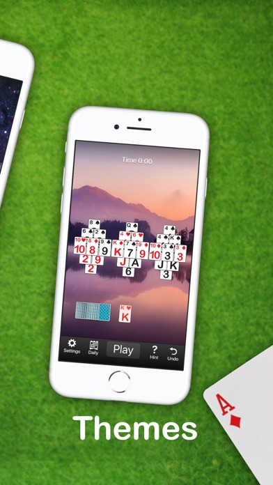 Golf Solitaire Card Game - 窓用