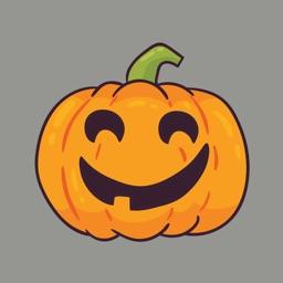 Pumpkin emoji stickers 2019