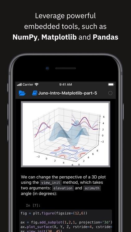 Juno for Jupyter
