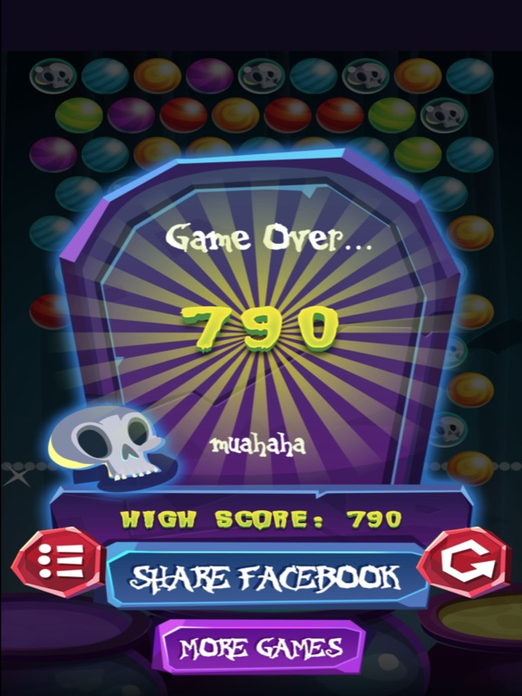 Halloween Scary Bubble Shooter screenshot 6