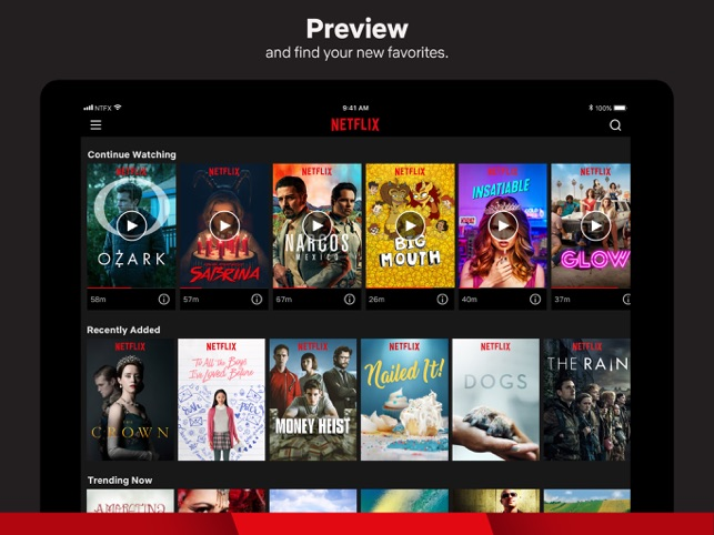 Netflix Screenshot