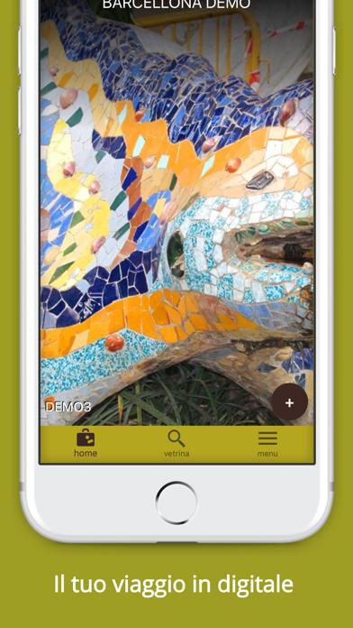Screenshot of Radici Viaggi2