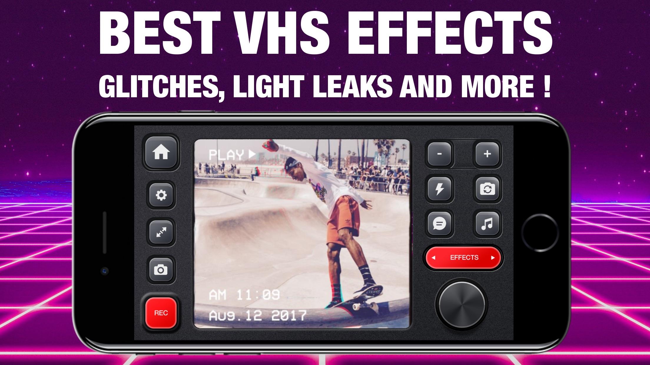 VHS Glitch Camcorder Screenshot