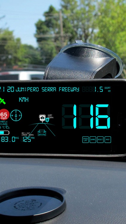 Speedmeter mph digital display screenshot-3