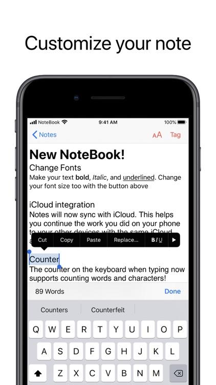 NoteBook -a note app screenshot-3