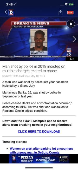 FOX13 Memphis News on the App Store