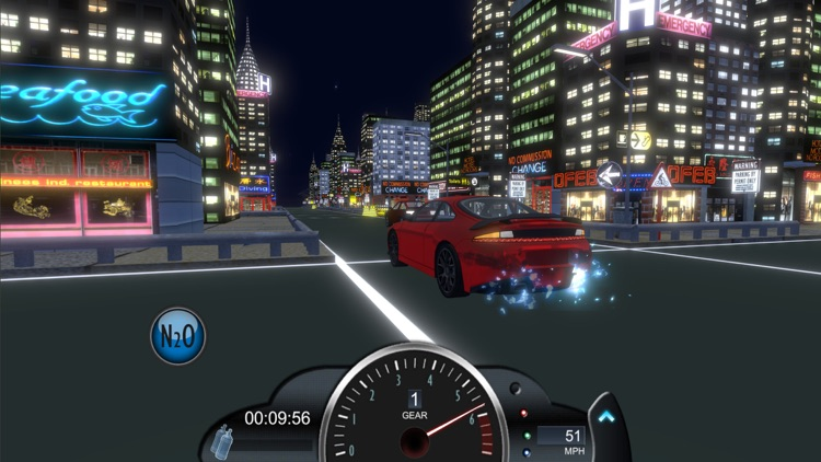 Drag racing game Nitro Rivals screenshot-6