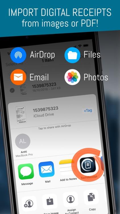 SwiftReceipt - receipt scanner screenshot-4