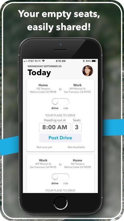 carzac - carpool made easy. screenshot-0