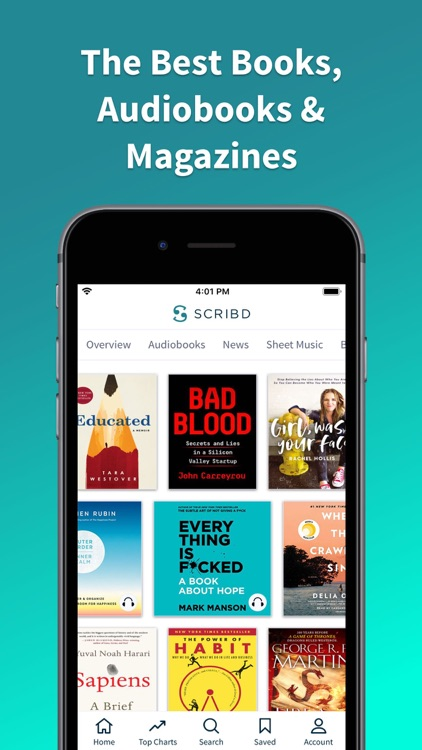 Scribd - audiobooks & ebooks